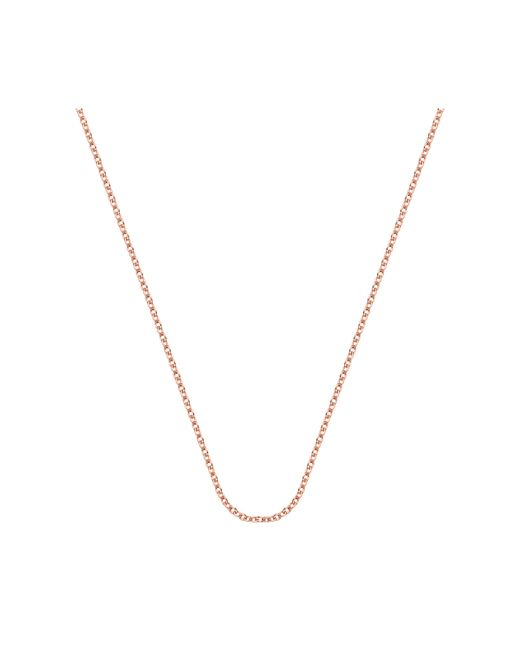 """Monica Vinader - Pink Rolo Chain 24""""/61cm With Adjuster - Lyst"""