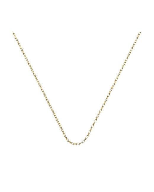 "Monica Vinader - Metallic Fine Open Link Chain 30""/76cm - Lyst"
