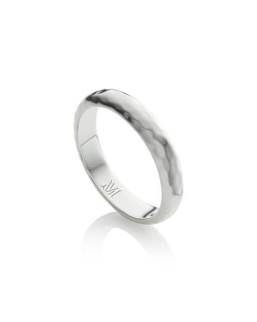Monica Vinader - Metallic Alta Thin Ring - Lyst