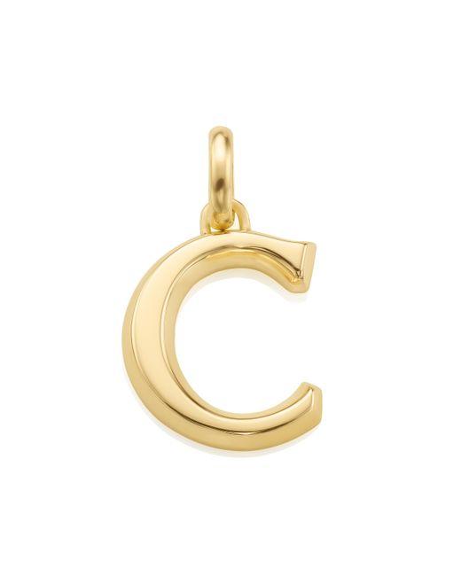 Monica Vinader | Metallic Alphabet Pendant C | Lyst