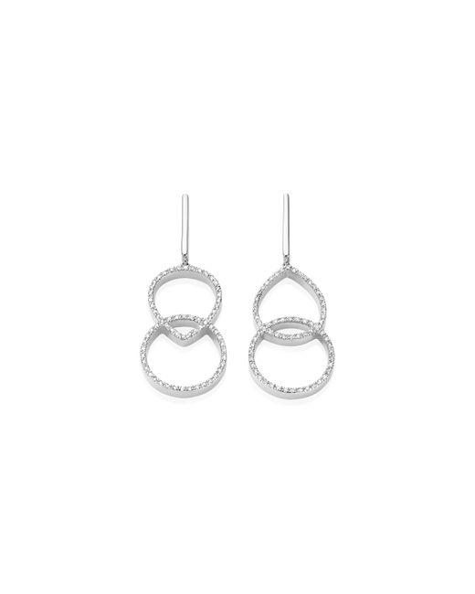 Monica Vinader - Metallic Naida Kiss Open Cocktail Earrings - Lyst