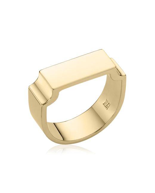 Monica Vinader - Metallic Signature Wide Ring - Lyst
