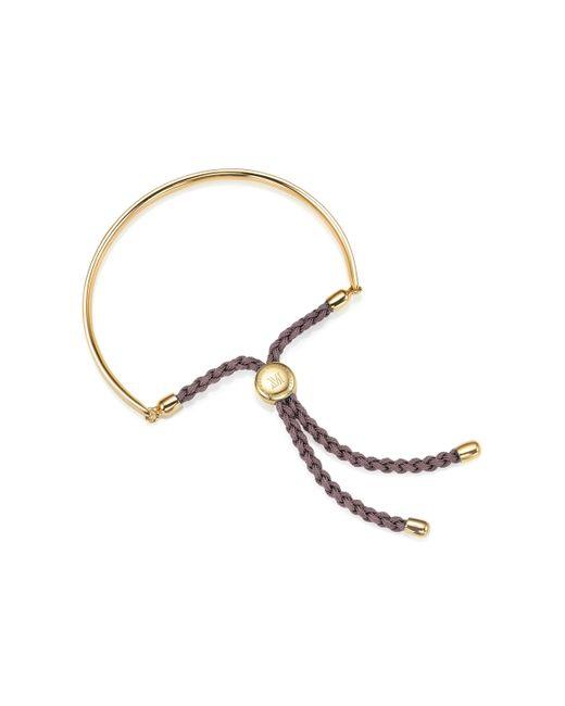 Monica Vinader Brown Fiji Friendship Petite Bracelet