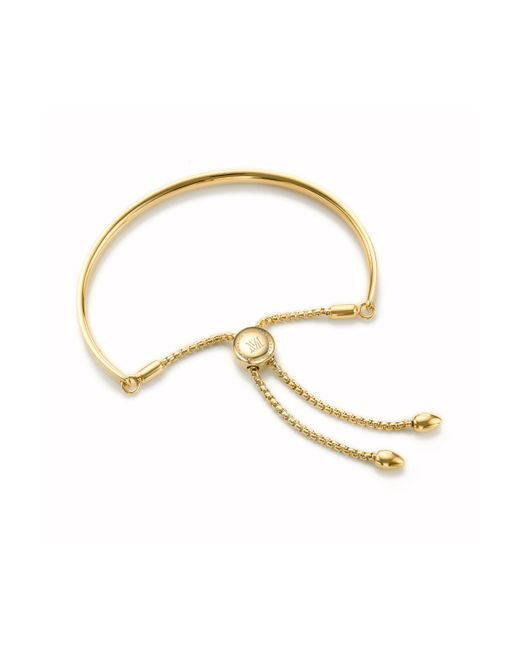 Monica Vinader - Metallic Fiji Friendship Petite Chain Bracelet - Lyst