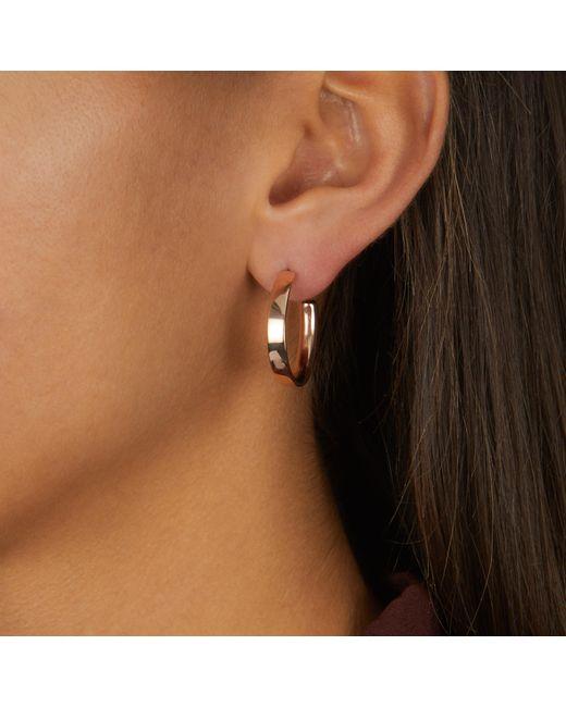 Monica Vinader Multicolor Fiji Large Hoop Earrings