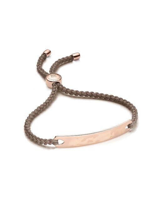 Monica Vinader - Brown Havana Friendship Bracelet - Lyst