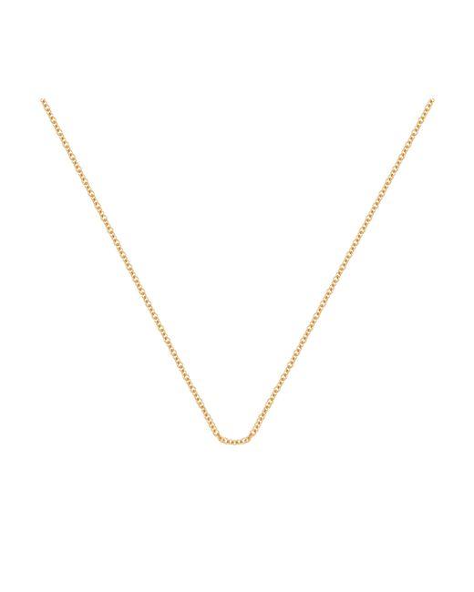 "Monica Vinader - Metallic Fine Chain 24""/61cm With Adjuster - Lyst"