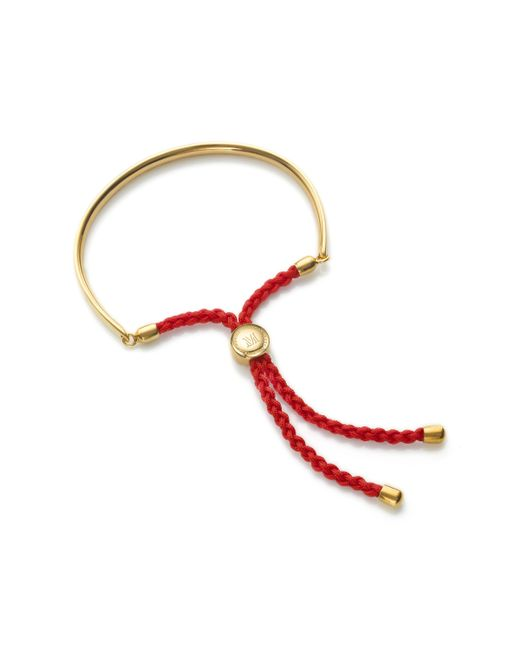 Monica Vinader - Pink Fiji Friendship Bracelet - Lyst