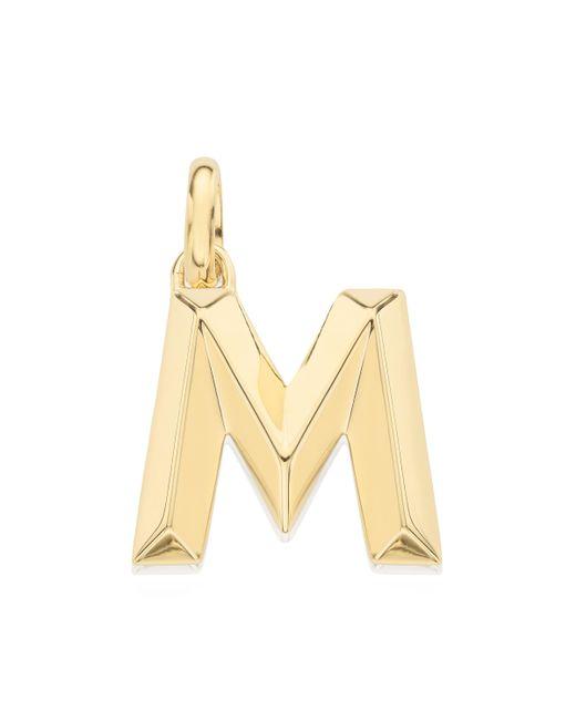 Monica Vinader - Metallic Alphabet Pendant M - Lyst
