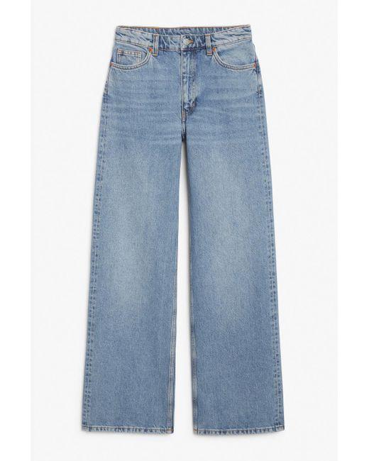 Women's Yoko Mid Blue Jeans