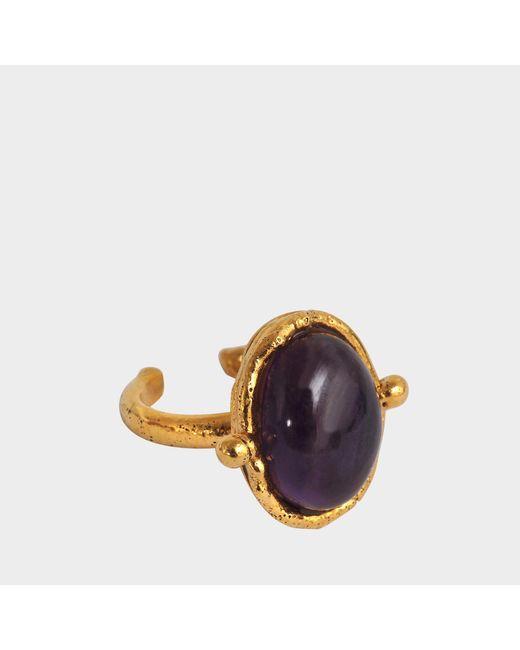 Sylvia Toledano - Purple Petite Ovale Ring - Lyst