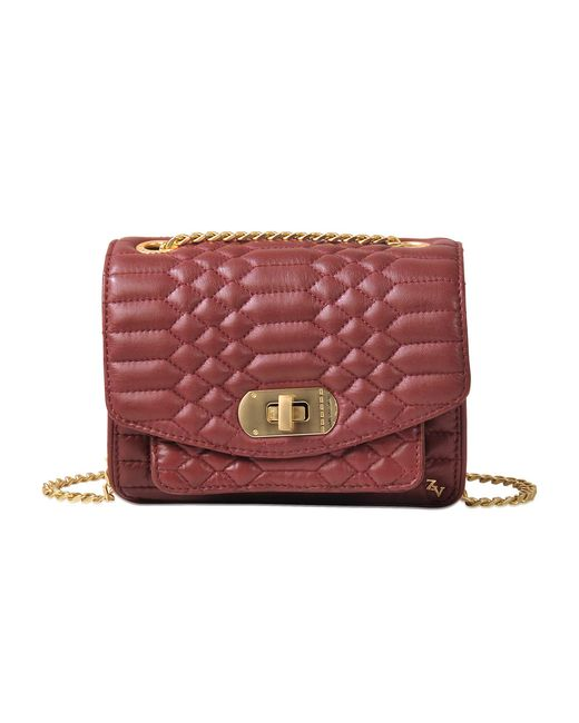 Zadig & Voltaire   Red Xs Skinny Love Scales Bag   Lyst