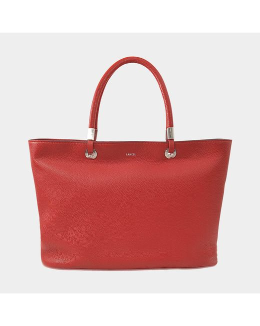Lancel - Red Flore East West Tote - Lyst