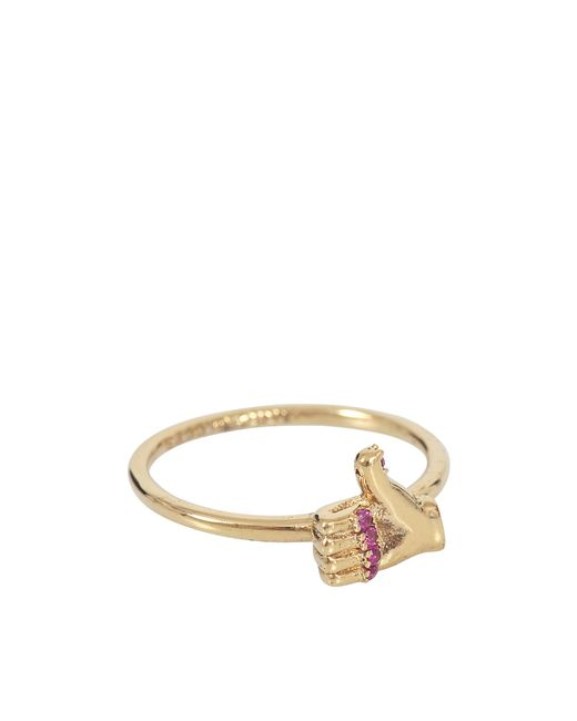Marc Jacobs - Multicolor Thumbs Up Ring - Lyst