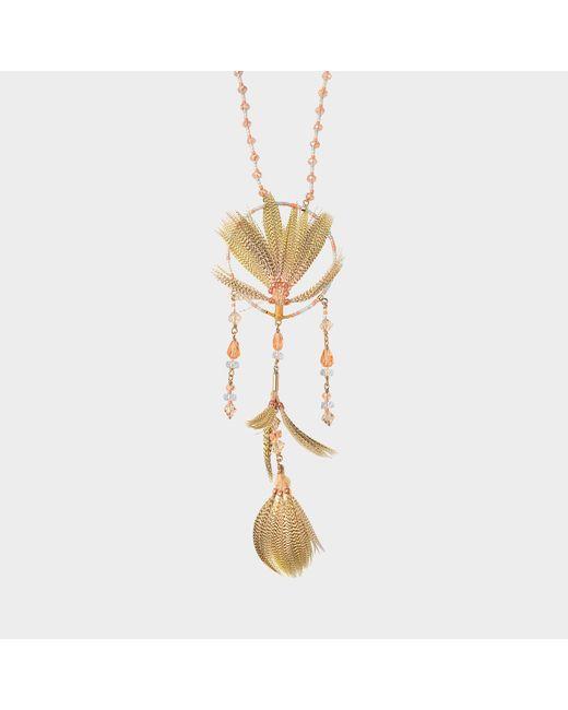 Valentino - Multicolor Dream Catcher Necklace - Lyst