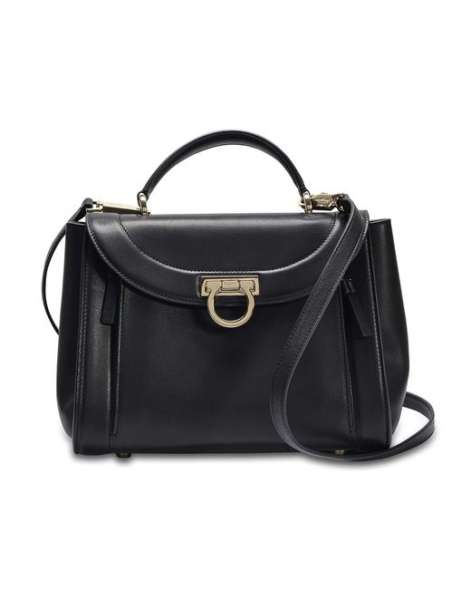 Ferragamo - Black Sofia Rainbow Small Bag - Lyst