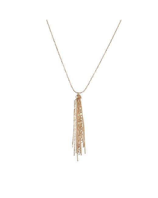 Ginette NY | Metallic Long Unchained Necklace | Lyst
