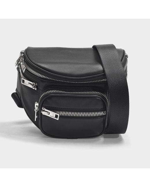 Alexander Wang Attica Soft Fanny Messenger Bag In Black