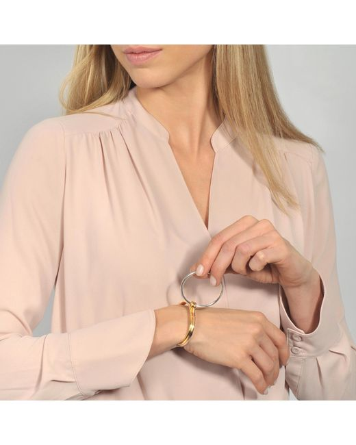 Charlotte Chesnais - Metallic Three Lovers Bracelet - Lyst
