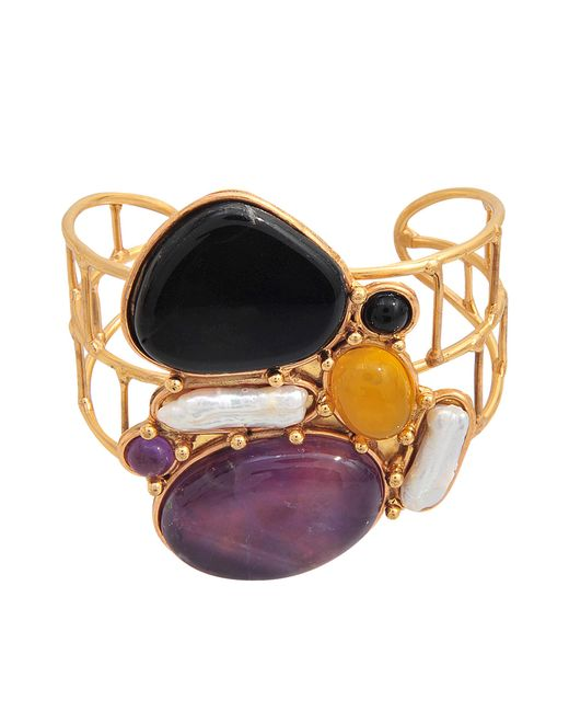 Sylvia Toledano | Multicolor Abstract Cuff | Lyst