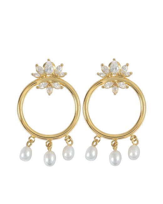 Shourouk | Metallic Loops Star Earrings | Lyst