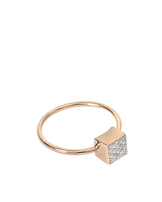 Ginette NY | Multicolor Baby Diamond Ever Square Ring | Lyst