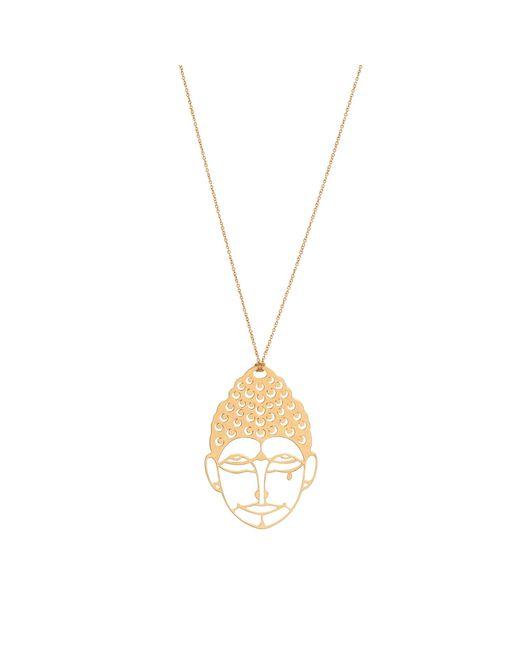 Ginette NY | Green Medium Buddah Necklace | Lyst