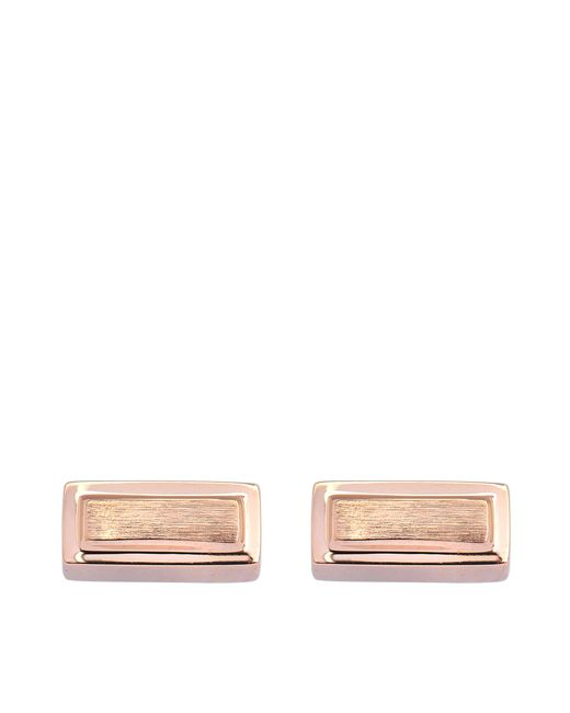 Ginette NY | Metallic Gold Bar Earrings | Lyst