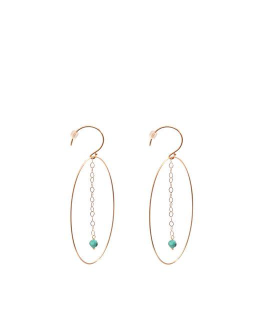 Ginette NY | Green Fallen Sky Ellipse Earrings | Lyst
