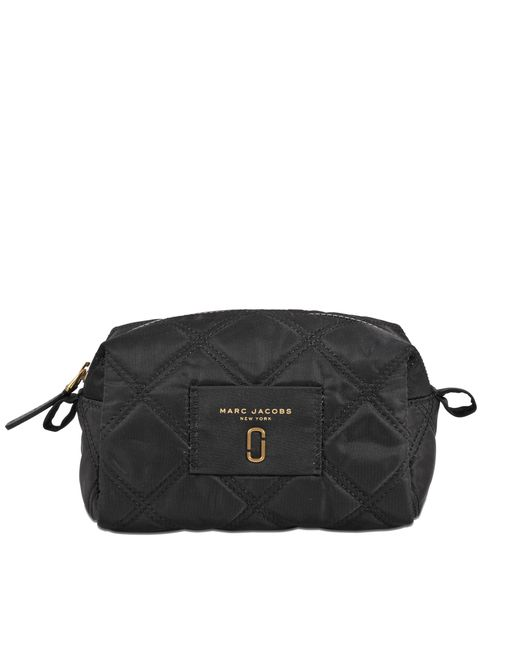 Marc Jacobs | Black Nylon Knot Large Cosmetic Pouch | Lyst