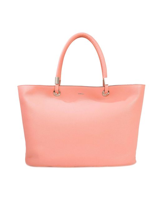 Lancel | Pink Flore Zipped Tote | Lyst