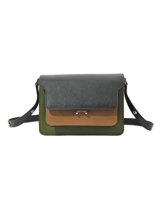 Marni | Natural Mini Trunk Bag In Shiny Python | Lyst