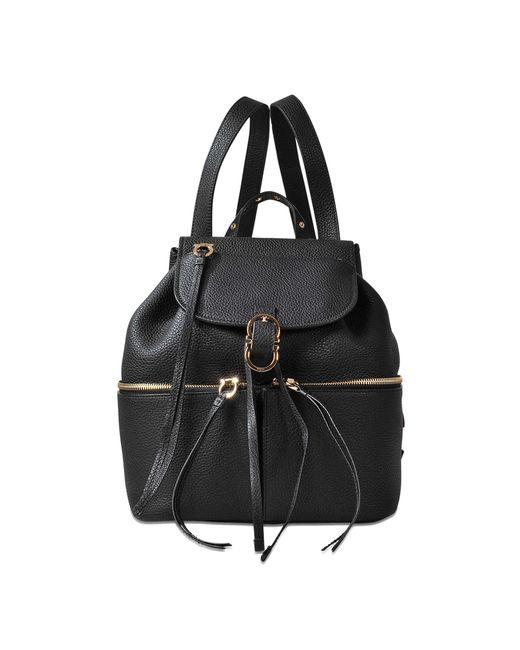 Ferragamo   Black Carol Backpack   Lyst