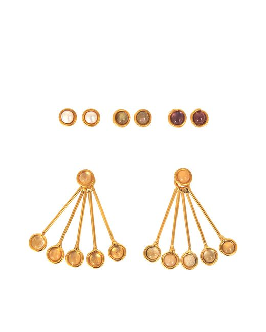 Sylvia Toledano | Metallic Les Infidèles Ear Jacket Set Of Earrings | Lyst