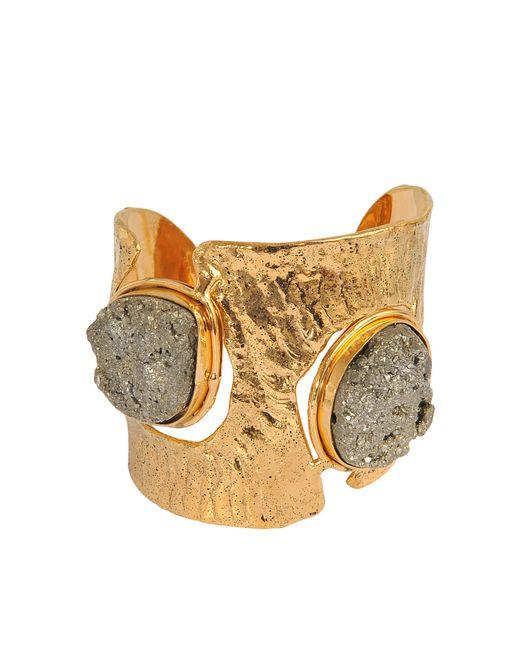 Sylvia Toledano   Metallic Pyrite Cuff   Lyst