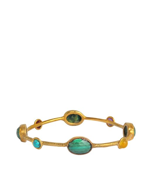 Sylvia Toledano | Green Galaxy Dots Bangle | Lyst