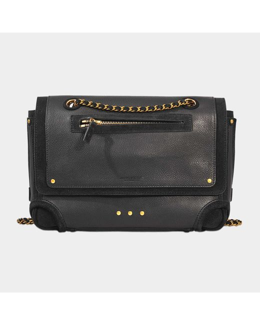 Jérôme Dreyfuss - Black Benjamin Bag In Calfskin - Lyst