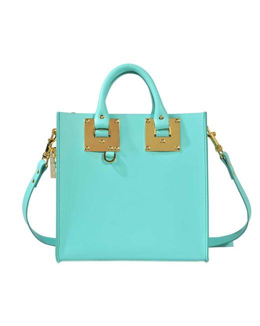 Sophie Hulme | Blue Square Albion Tote Bag | Lyst