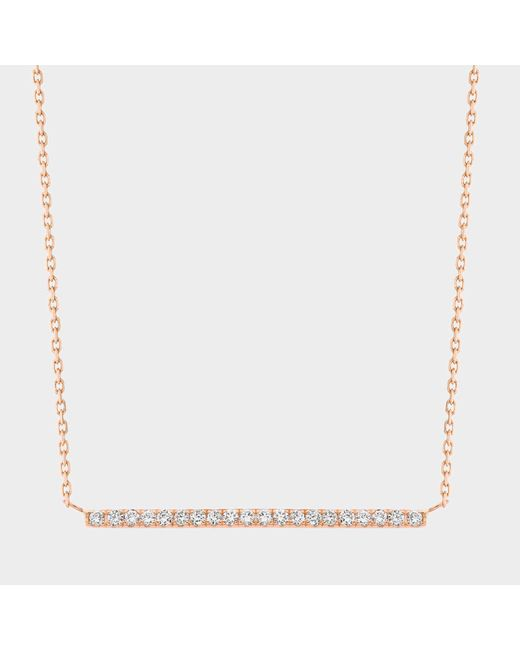 Vanrycke - Pink Medellin Necklace Gold 750‰ And Diamonds - Lyst