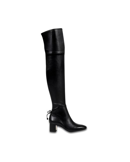 Tory Burch | Black Laila Over The Knee Boots | Lyst