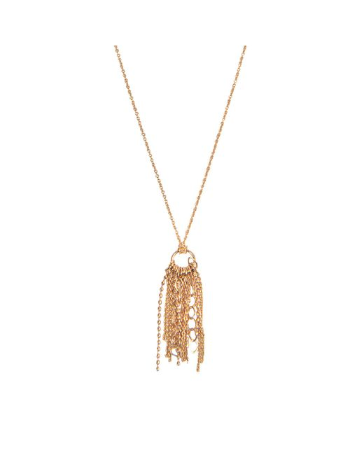 Ginette NY | Metallic Mini Unchained Necklace | Lyst