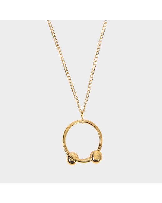 J.W. Anderson - Multicolor Pierce Pendant Necklace - Lyst