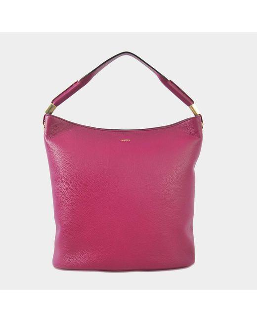 Lancel - Pink Flore Hobo Bag - Lyst