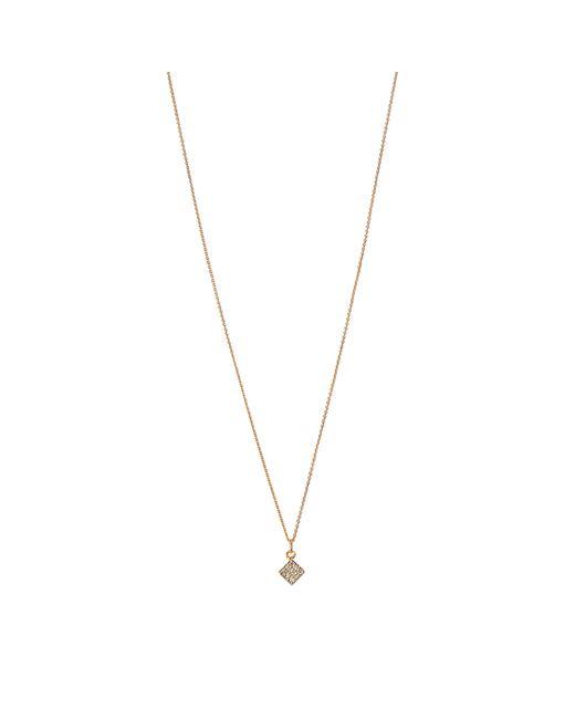 Ginette NY | Multicolor Mini Diamond Ever Square On Chain | Lyst