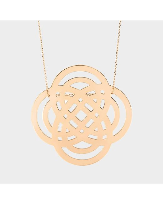 Ginette NY - Pink Purity On Chain Necklace - Lyst