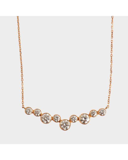 Vanrycke - Metallic Sakura Necklace 750‰ Gold And Diamonds - Lyst