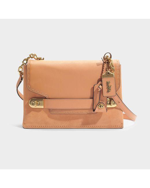 COACH - Multicolor Swagger Chain Crossbody Bag In Beige Calfskin - Lyst