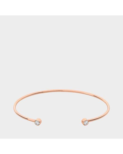 Vanrycke - Pink Mademoiselle Else Diamants Bangle - Lyst