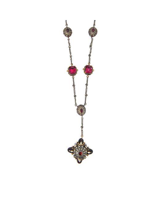 Alexander McQueen | Metallic Ballet Bullet Charms Necklace | Lyst