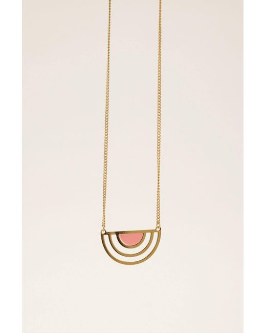 Anne Thomas - Pink Necklace / Longcollar - Lyst